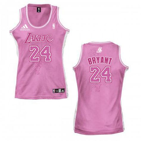 ... Womens Kobe Bryant Authentic Pink Jersey Adidas 24 NBA Los Angeles  Lakers Fashion Everything KB 24 ... 2d69afcfc9