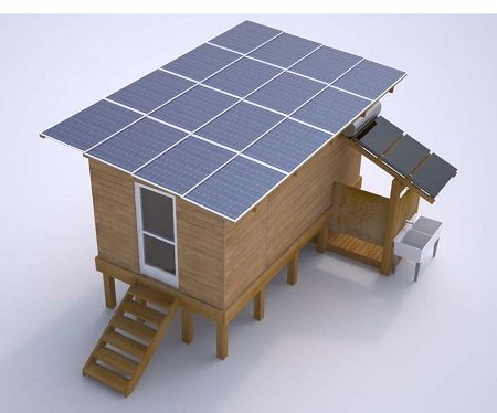 Thk 4410 Kit Thk 4410 Kit Cabin Resort Camp Off Grid Pv In 2020 Solar Panels Best Solar Panels Solar Energy Panels
