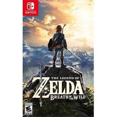 The Legend Of Zelda Breath Of The Wild Nintendo Nintendo Switch 045496590420 Walmart Com Legend Of Zelda Breath Breath Of The Wild Legend Of Zelda