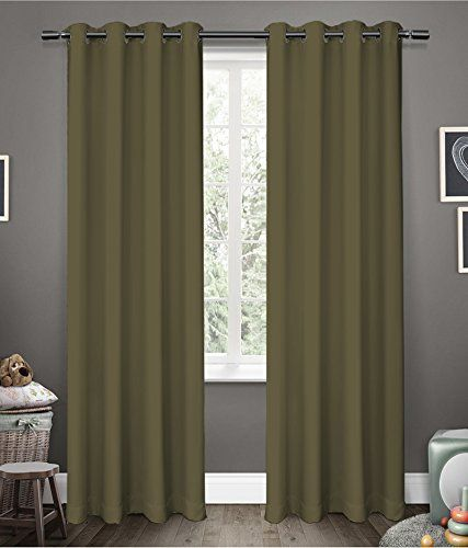 American Elm Glorious Khaki 2 Panel Light Blocking Blacko Https Www Amazon In Dp B071ft622f Ref Cm Sw R Pi Dp Blackout Curtains Curtains Hospital Curtains