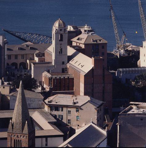 Facoltà di Architettura a Genova, Ignazio Gardella e Mario Valle Engineering,  1975-1989