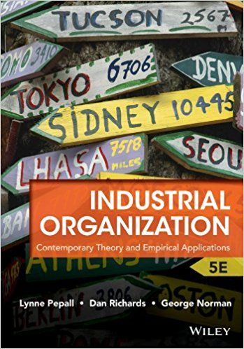 Solution Manual For Industrial Organization Contemporary Theory