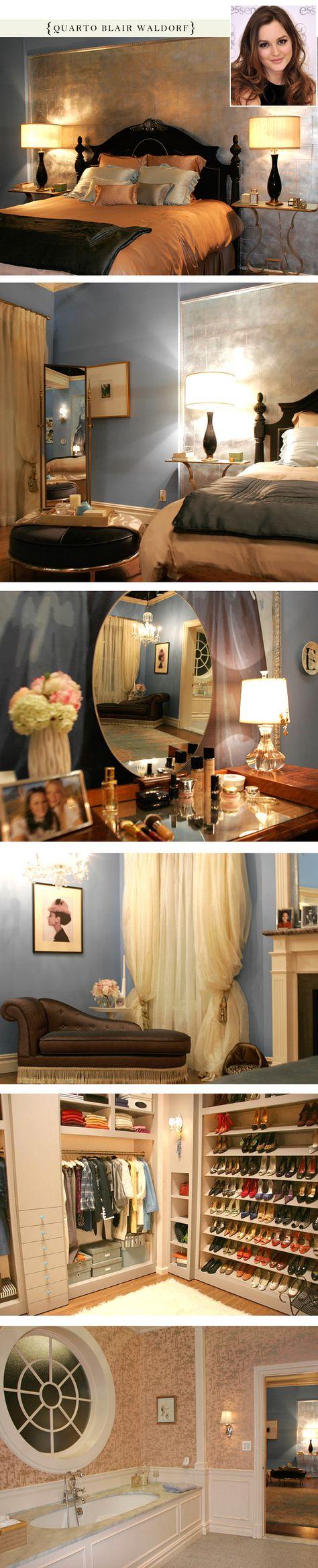 Blair Waldorf's bedroom on Gossip Girl