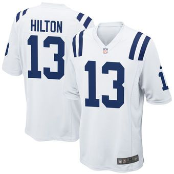 online store 7ee31 f798e TY Hilton Indianapolis Colts Nike Youth Game Jersey - White ...
