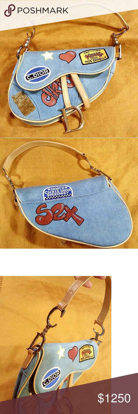 Limited Edition Christian Dior Speedway Saddle Bag Gently used but well  cared for authentic Christian Dior a39c67c245