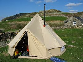 The Anevay Frontier Stove in a Bell tent | C&ing and Bug Out gear! | Pinterest | Tents & Glamping. The Anevay Frontier Stove in a Bell tent | Camping and ...