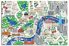 Find Great Deals For Jamie Malone London Map Poster New Maxi