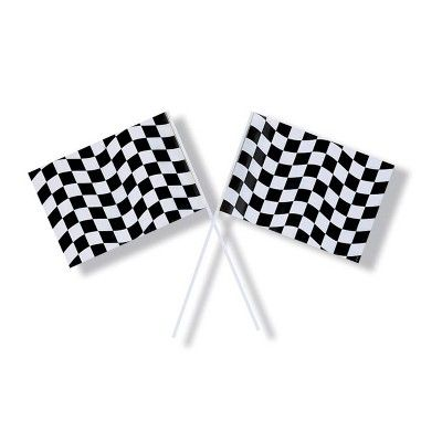 racing decorations party kit in 2020 checkered flag party small flags race party pinterest