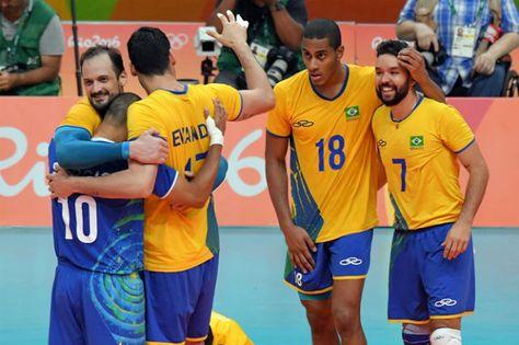 Finale volley maschile: è un 3-0 a decretare che il Brasile è campione olimpionico. Nulla da fare per l'Italia, ci ha provato ma senza esito