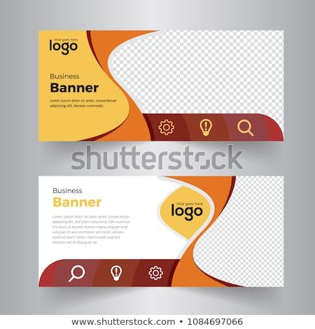 Corporate Business Banner Template Horizontal Advertising