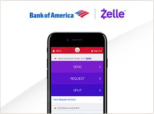 Use Zelle In The Bank Of America Mobile Banking App To Pay Back