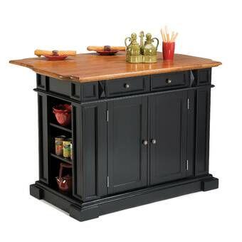 Harris Kitchen Island With Granite Top Small Kitchen Island Black Kitchen Island Kitchen Furniture