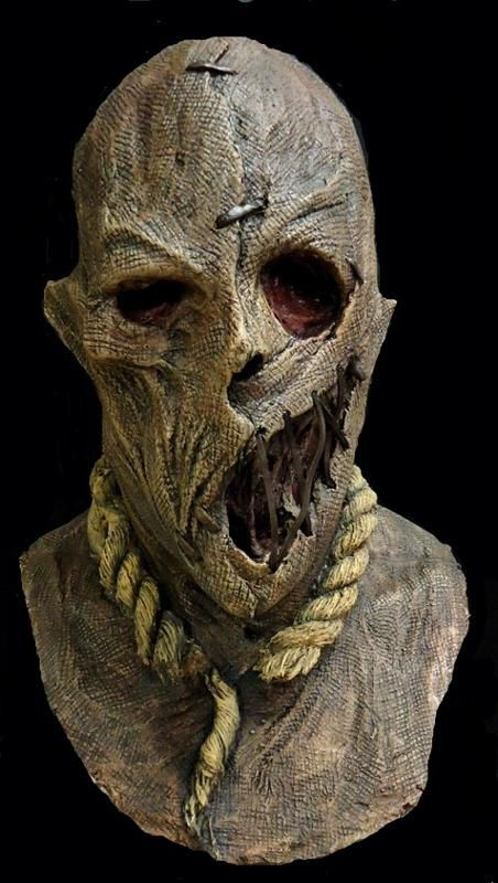masquerade Mask Scarecrow Hell halloween free shipping horror
