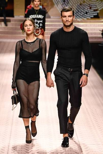 d5049027a80 Dolce & Gabbana Spring/Summer 2019 Ready-To-Wear | Styling a young ...