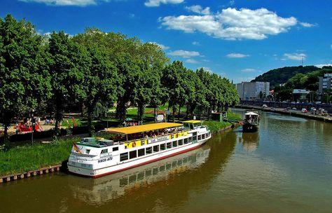 Marvelous Auch eine Idee Lustige Blumenholzboote schwimmen auf dem Saaraltarm in Saarlouis Hat was Pinterest Hats