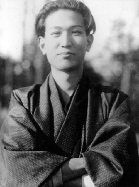 Akira Kurosawa, age 26 (c.1936)    Considered one of the most influential film makers of all time.    (photo found on http://strangewood.tumblr.com)