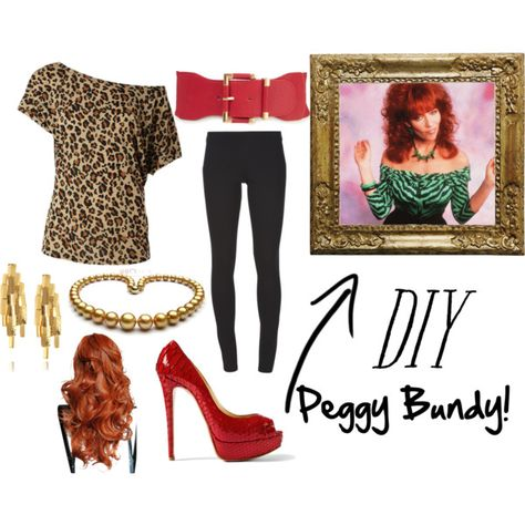 DIY Peggy Bundy Halloween Costume- haha loved that show!
