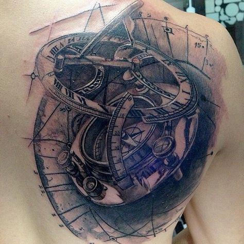 vintage #compass #vintage #o'clock...