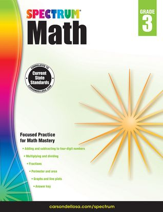 PDF DOWNLOAD] Spectrum Math Workbook, Grade 3 by Thomas