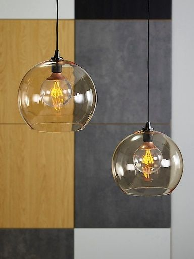 JAKOBSBYN clear glass, Pendant lamp