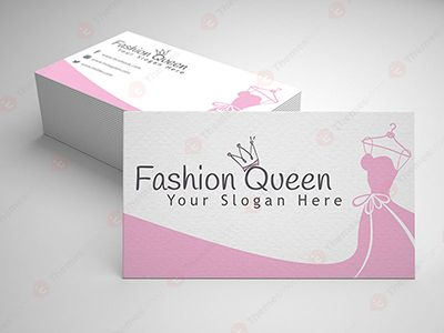 Fashion Shop Visiting Card Themesmom Visiting Cards Free Business Card Templates Cards