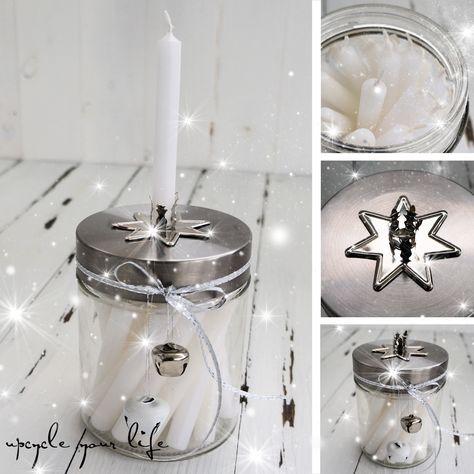 Adventskalender 24 Kleine Kerzen Im Glas Kerze Im Glas