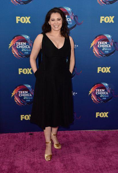 Rachel Bloom attends FOX's Teen Choice Awards.
