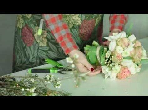 Bouquet Sposa Youtube.Rosalba Piccinni Bouquet Sposa Tutorial Youtube Bouquet