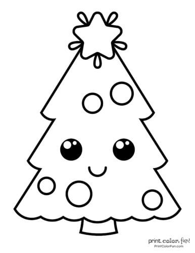 Top 100 Christmas Tree Coloring Pages The Ultimate Free Printable Collecti Christmas Tree Coloring Page Tree Coloring Page Christmas Present Coloring Pages