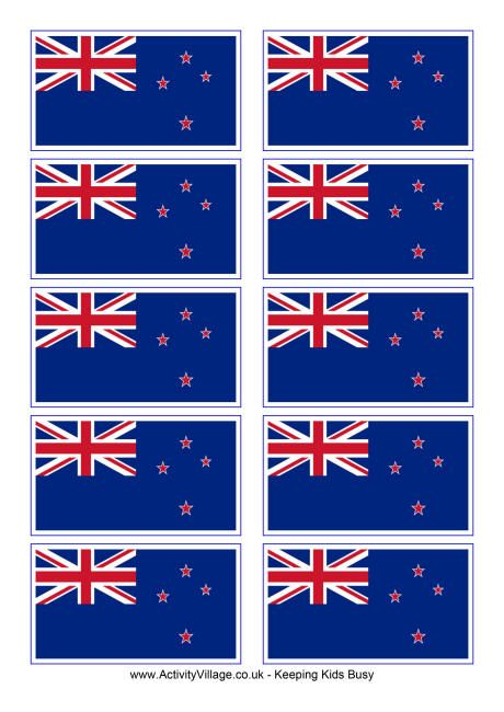 New Zealand Flag Printable New Zealand Flag Flag Coloring Pages World Thinking Day