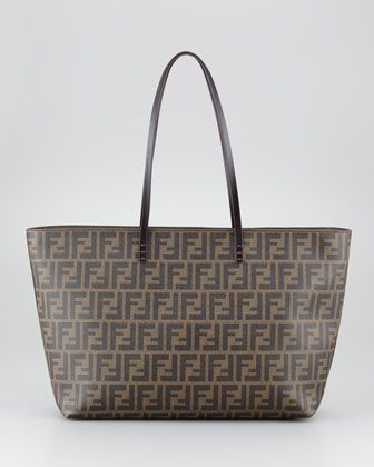 e7eba259c1 Fendi Tote in Red leather bottom tan brown? (No longer available ...