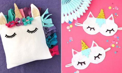 35 DIY Crafts With Unicorns