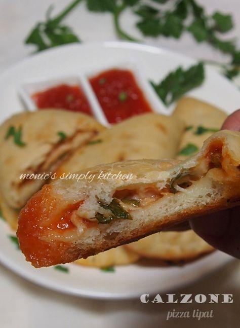 Calzone Makanan Resep Masakan Resep Keto