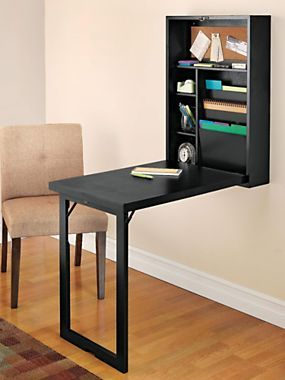 Superb Instantly Create A Home Office With Our Fold Out Convertible Desk |  Solutions.com #Home #Office #Decor | Indoor Décor | Pinterest |  Convertible, Desks And ...