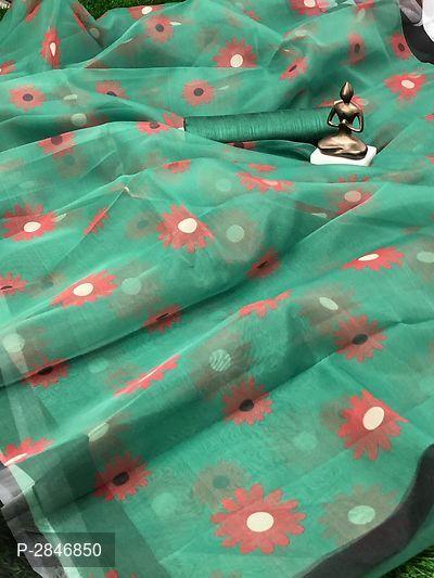 ORGANZA Saree Black Saree Satin Border Saree With Blouse Piece Indian Clothing Ethnic Sari Antique Sarong Fabric Craft Wedding Wear Women