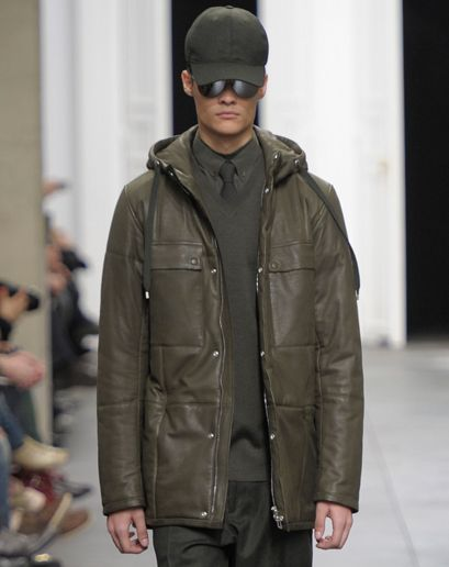 The GQ Fall 2012 Trend Report by Jim Moore - Fall Fashion for Men: Wear It Now: GQ loden is a grayish shade of green. 3