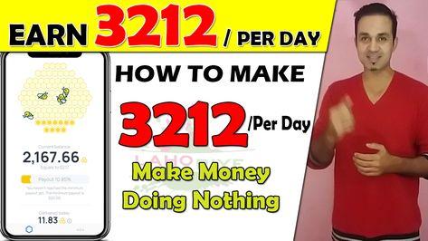 HoneyGain Earn 20$ Per Day