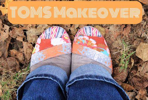 DIY TOMS Makeover | Always, Amanda