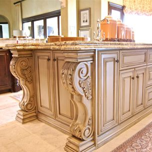 Now These Are Corbels!! | Kitchens And Eating Areas | Pinterest | Kitchens,  House And Kitchen Design