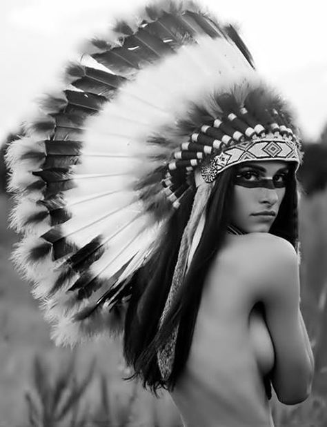 Nude native indian
