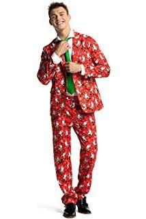 f0cd037e0bb0 Modisch Herren Party Anzug Weihnachten Party Suits Kostüme ...