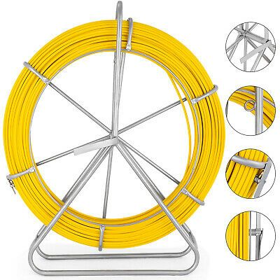 50 Foot Fish Tape Electrician Electrical Non Conductive Wire Cable Puller