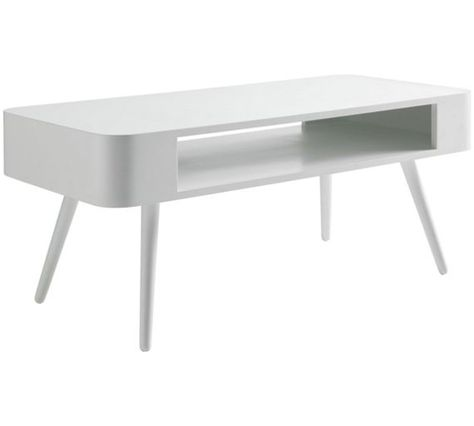 Habitat Bumble Coffee Table White Coffee Table Argos