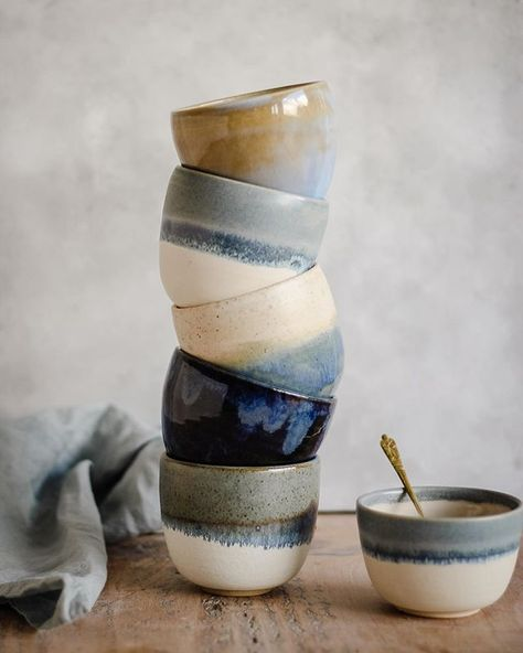 Main Collection Handmade Pottery Kara Leigh Ford Ceramics Home ceramic pottery Stoneware Clay, Ceramic Mugs, Ceramic Bowls, Ceramic Pottery, Slab Pottery, Porcelain Ceramic, Pottery Wheel, Pottery Bowls, Thrown Pottery