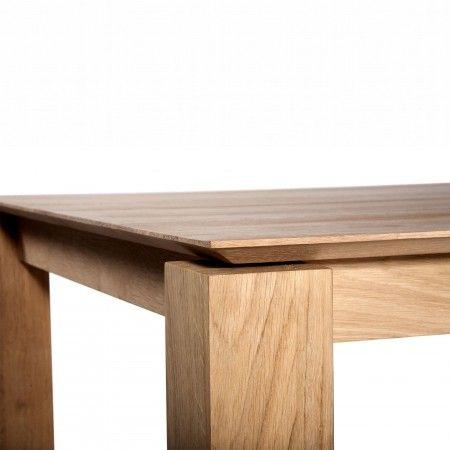Slice Dining Table Ethnicraft Do South Shop Furniture Modern Furniture Oak Dining Table