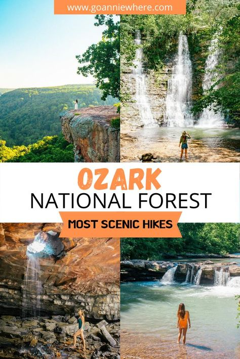 Camping And Hiking, Hiking Trails, Camping Rules, Backpacking, Arkansas Vacations, Ozark National Forest, Us Travel Destinations, Road Trip Usa, Usa Trip