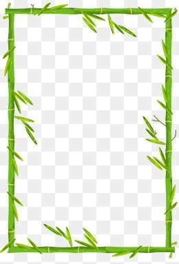 Bamboo Border Bamboo Background Bamboo Frame Boarders And Frames