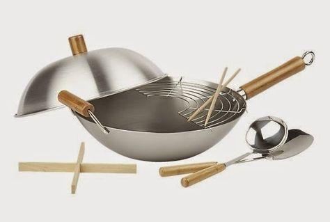 Recetas Al Wok Con Imagenes Recetas Wok Wok Utensilios De Cocina
