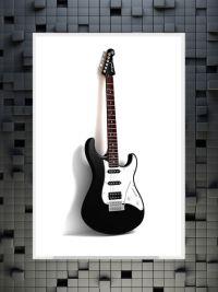 """Guitar"" | www.munteos.fi |#munteos #kuvaverkko#kuvatuote #design #kuosi#kilpailu #voita"