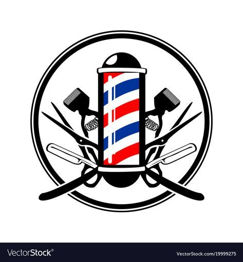 Pin De Milani Howard Em Barbeiro Ideias Para Barbearias Quadros Para Barbearia Logotipo Do Barbeiro